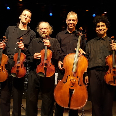 The Arion string quartet with M. Bezverkni